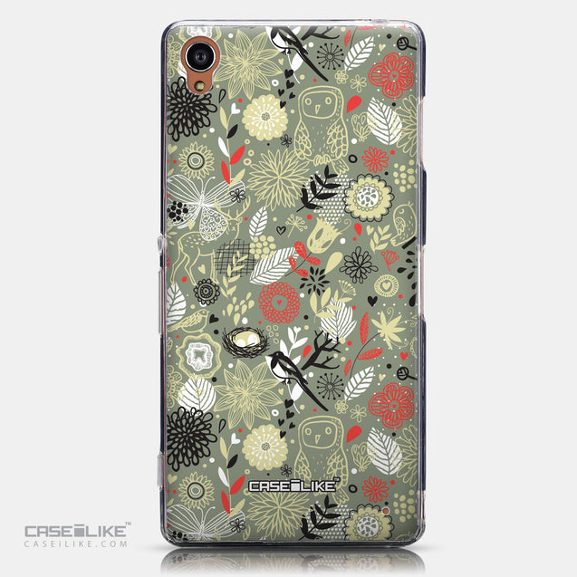 CASEiLIKE Sony Xperia Z3 back cover Spring Forest Gray 2243