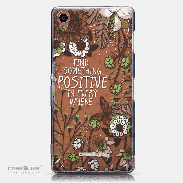 CASEiLIKE Sony Xperia Z3 back cover Blooming Flowers 2250