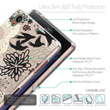 Details in English - CASEiLIKE Sony Xperia Z3 back cover Japanese Floral 2254