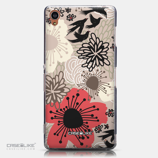 CASEiLIKE Sony Xperia Z3 back cover Japanese Floral 2254