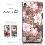 Collection - CASEiLIKE Sony Xperia Z3 back cover Japanese Floral 2255