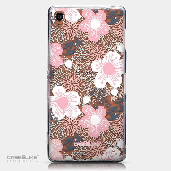 CASEiLIKE Sony Xperia Z3 back cover Japanese Floral 2255