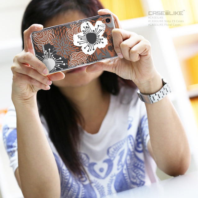 Share - CASEiLIKE Sony Xperia Z3 back cover Japanese Floral 2256