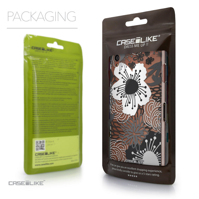 Packaging - CASEiLIKE Sony Xperia Z3 back cover Japanese Floral 2256