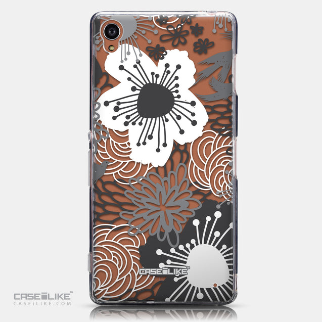 CASEiLIKE Sony Xperia Z3 back cover Japanese Floral 2256