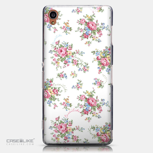 CASEiLIKE Sony Xperia Z3 back cover Floral Rose Classic 2260