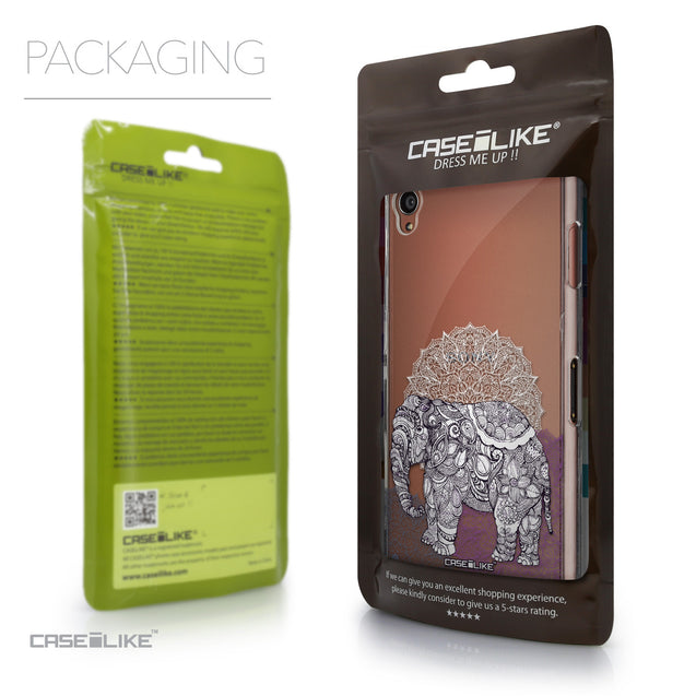 Packaging - CASEiLIKE Sony Xperia Z3 back cover Mandala Art 2301