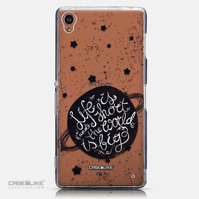 CASEiLIKE Sony Xperia Z3 back cover Quote 2401