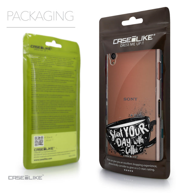 Packaging - CASEiLIKE Sony Xperia Z3 back cover Quote 2402