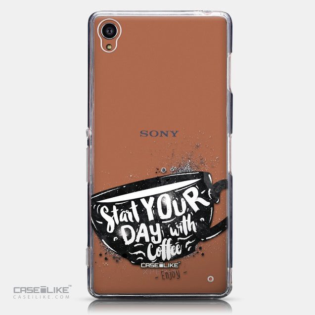 CASEiLIKE Sony Xperia Z3 back cover Quote 2402