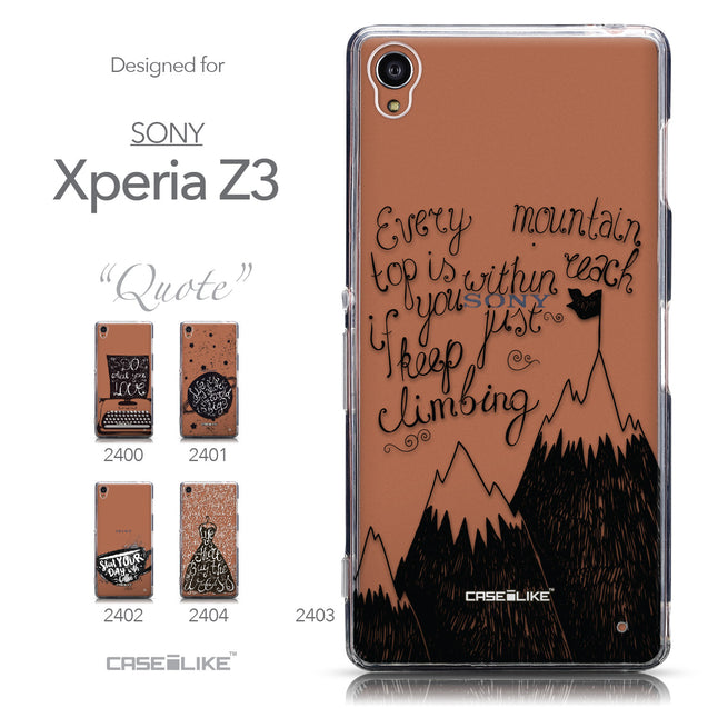 Collection - CASEiLIKE Sony Xperia Z3 back cover Indian Tribal Theme Pattern 2053