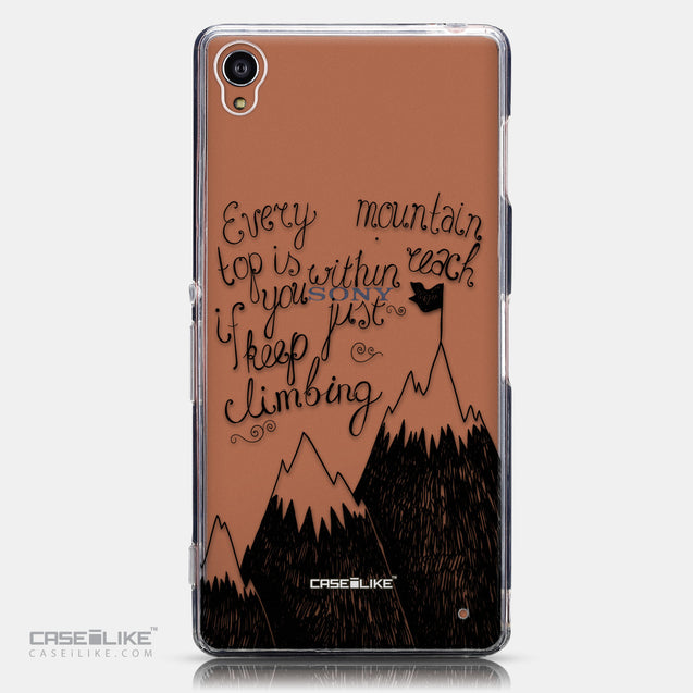 CASEiLIKE Sony Xperia Z3 back cover Quote 2403
