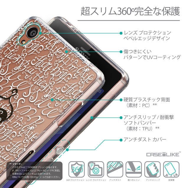 Details in Japanese - CASEiLIKE Sony Xperia Z3 back cover Indian Tribal Theme Pattern 2053