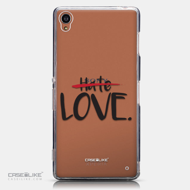 CASEiLIKE Sony Xperia Z3 back cover Quote 2406