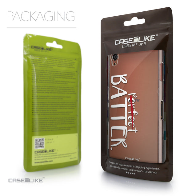 Packaging - CASEiLIKE Sony Xperia Z3 back cover Quote 2410