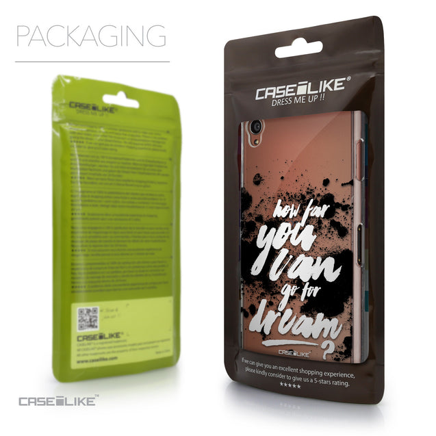 Packaging - CASEiLIKE Sony Xperia Z3 back cover Quote 2413