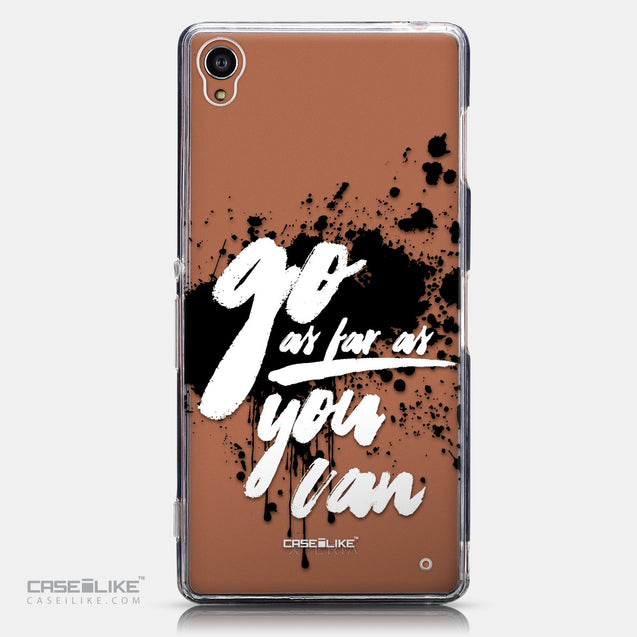 CASEiLIKE Sony Xperia Z3 back cover Quote 2415