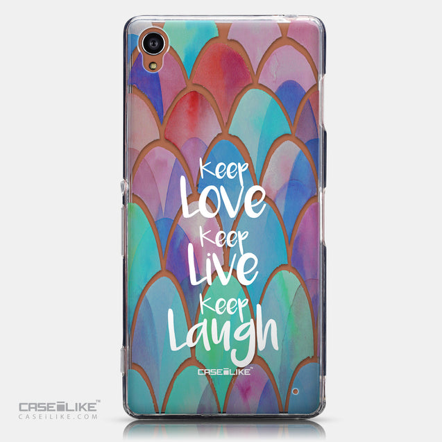 CASEiLIKE Sony Xperia Z3 back cover Quote 2417