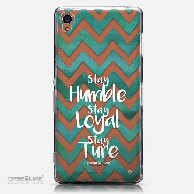 CASEiLIKE Sony Xperia Z3 back cover Quote 2418