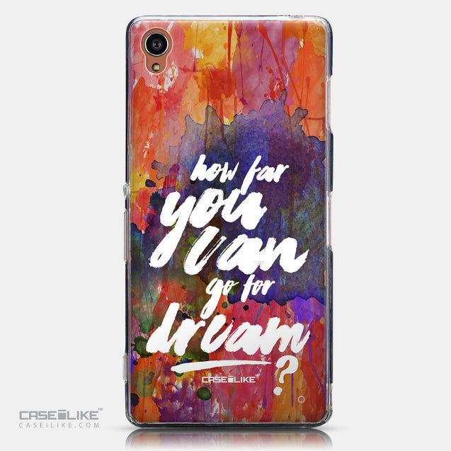 CASEiLIKE Sony Xperia Z3 back cover Quote 2421