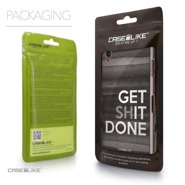 Packaging - CASEiLIKE Sony Xperia Z3 back cover Quote 2429