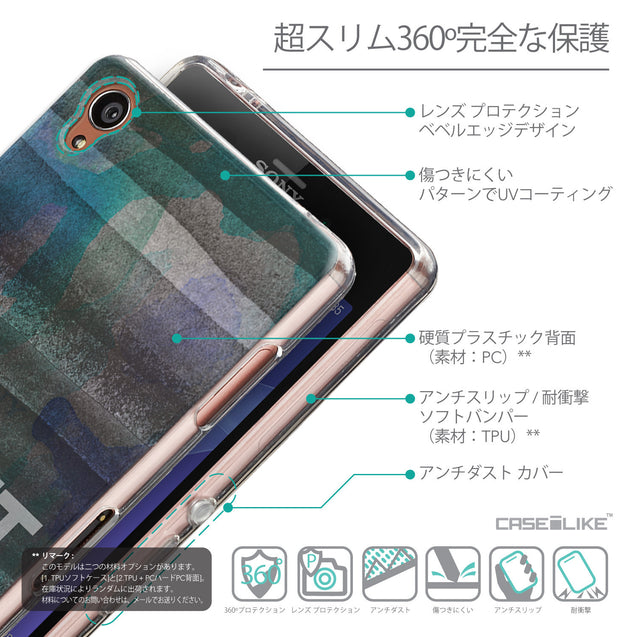 Details in Japanese - CASEiLIKE Sony Xperia Z3 back cover Quote 2431