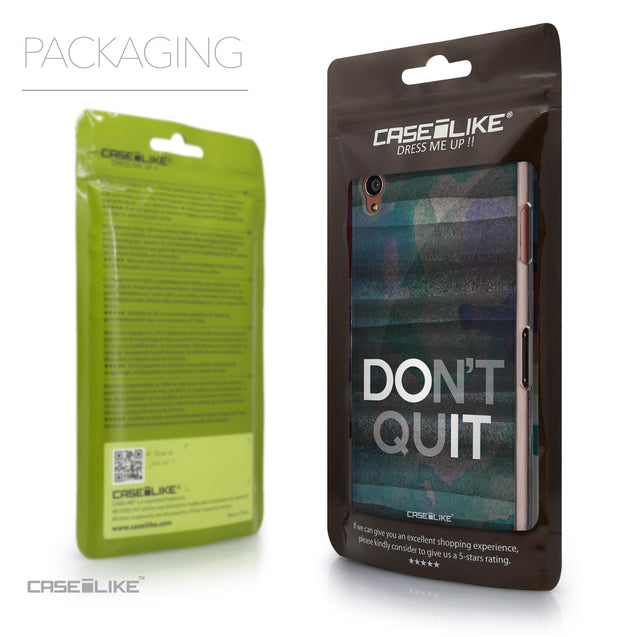 Packaging - CASEiLIKE Sony Xperia Z3 back cover Quote 2431