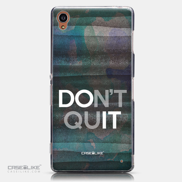 CASEiLIKE Sony Xperia Z3 back cover Quote 2431