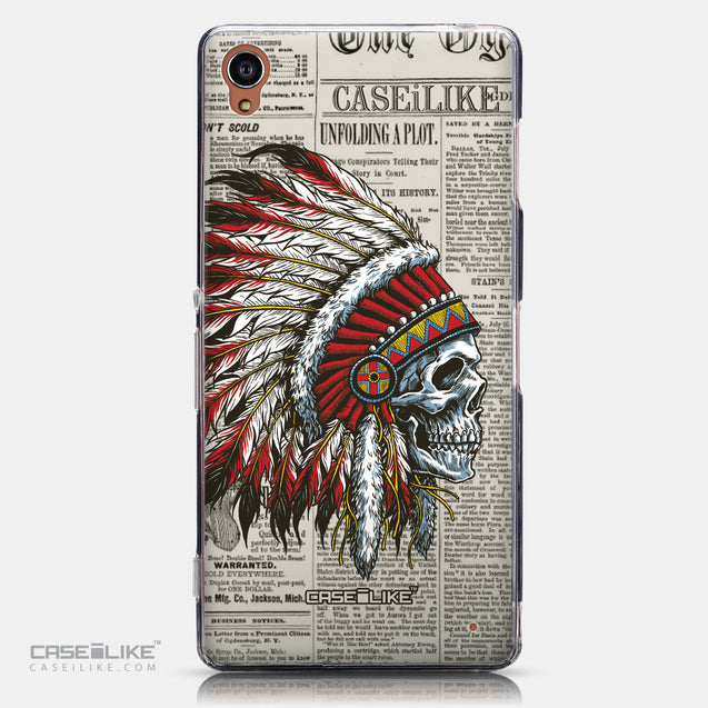 CASEiLIKE Sony Xperia Z3 back cover Art of Skull 2522