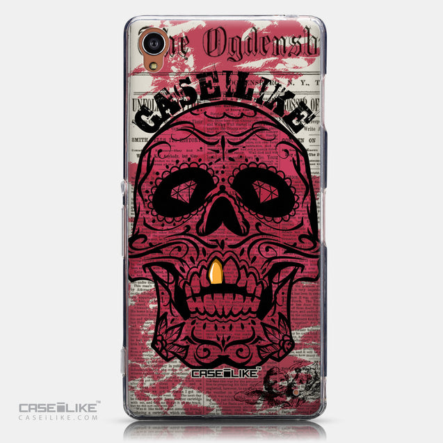 CASEiLIKE Sony Xperia Z3 back cover Art of Skull 2523