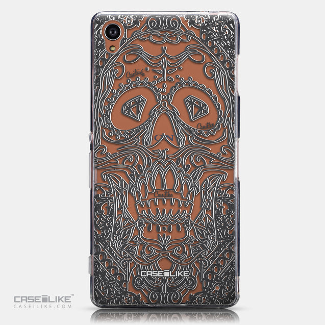 CASEiLIKE Sony Xperia Z3 back cover Art of Skull 2524