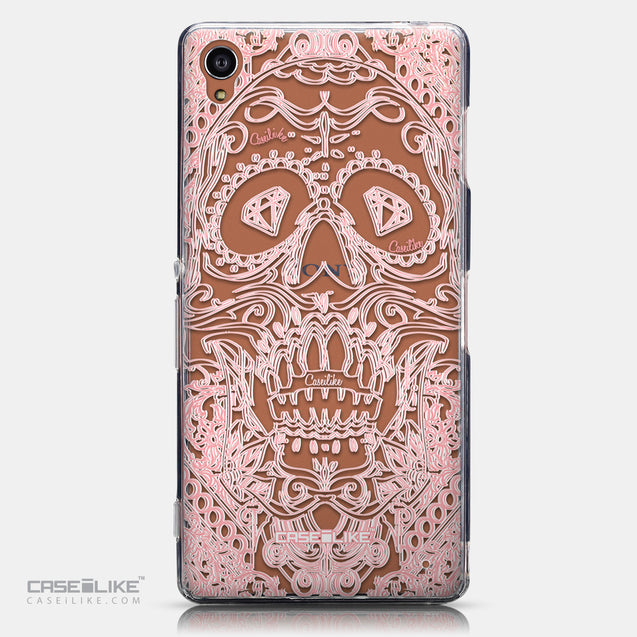 CASEiLIKE Sony Xperia Z3 back cover Art of Skull 2525