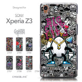 Collection - CASEiLIKE Sony Xperia Z3 back cover Graffiti 2704