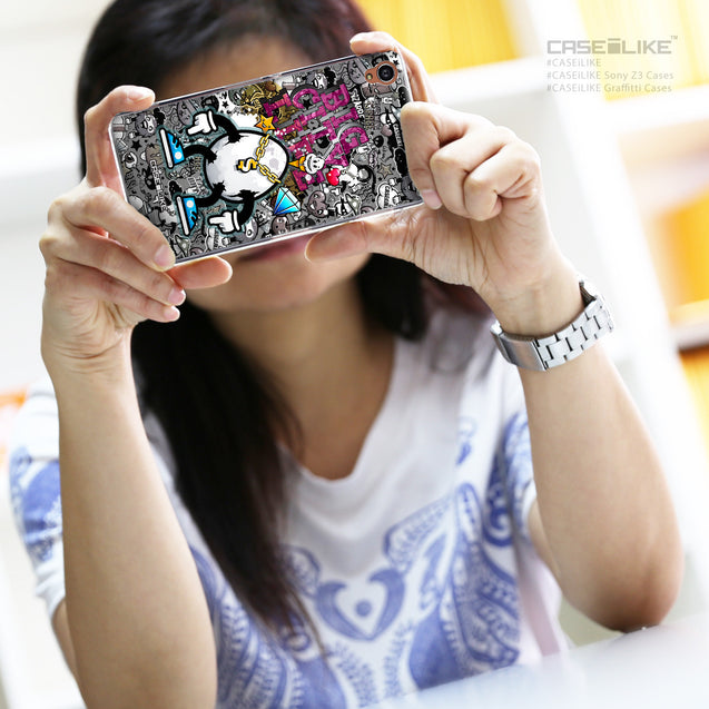 Share - CASEiLIKE Sony Xperia Z3 back cover Graffiti 2704