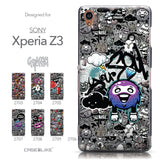 Collection - CASEiLIKE Sony Xperia Z3 back cover Graffiti 2706