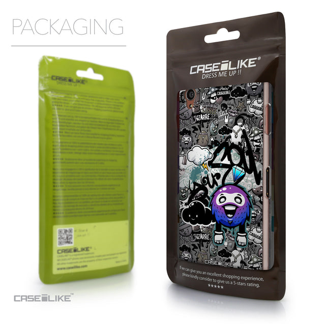 Packaging - CASEiLIKE Sony Xperia Z3 back cover Graffiti 2706