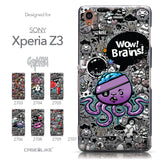Collection - CASEiLIKE Sony Xperia Z3 back cover Graffiti 2707