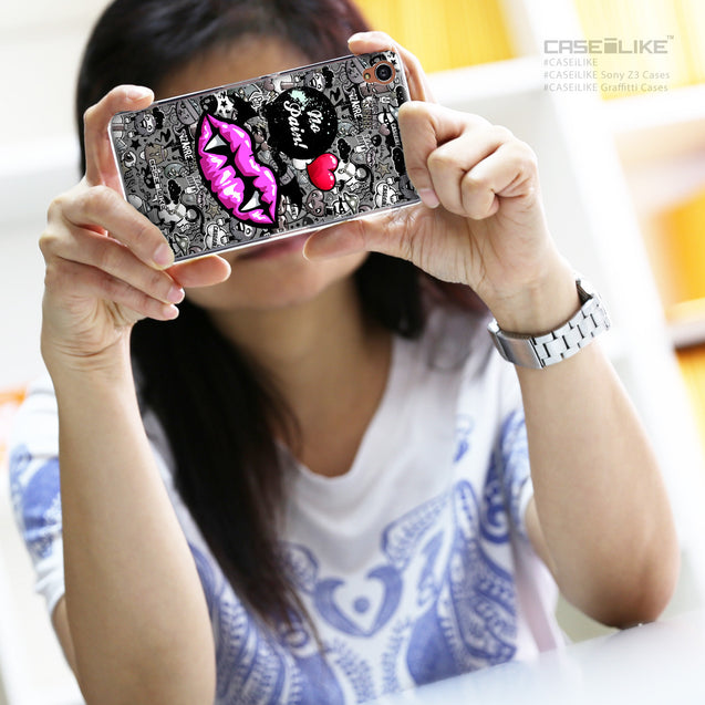 Share - CASEiLIKE Sony Xperia Z3 back cover Graffiti 2708
