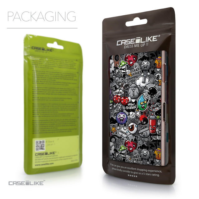 Packaging - CASEiLIKE Sony Xperia Z3 back cover Graffiti 2709