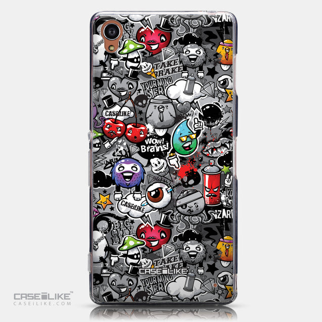 CASEiLIKE Sony Xperia Z3 back cover Graffiti 2709