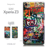 Collection - CASEiLIKE Sony Xperia Z3 back cover Graffiti 2721
