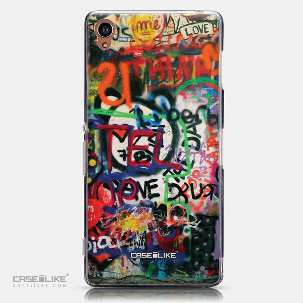CASEiLIKE Sony Xperia Z3 back cover Graffiti 2721