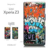 Collection - CASEiLIKE Sony Xperia Z3 back cover Graffiti 2722