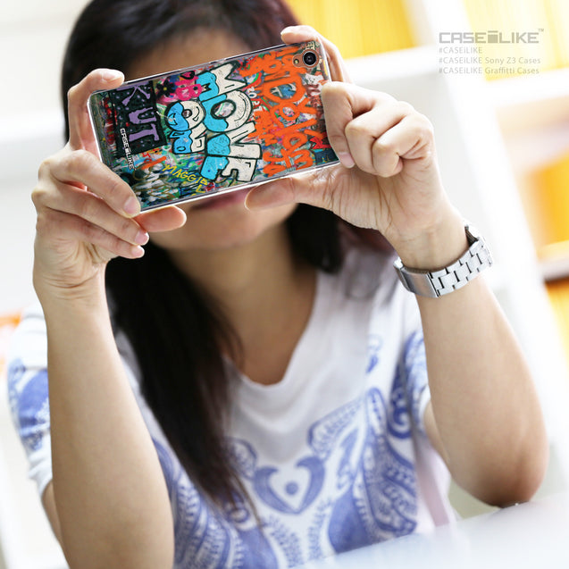 Share - CASEiLIKE Sony Xperia Z3 back cover Graffiti 2722