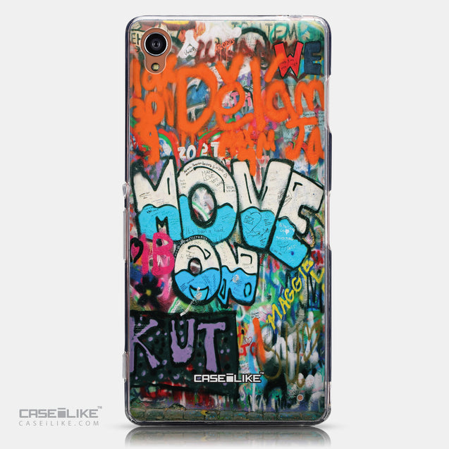 CASEiLIKE Sony Xperia Z3 back cover Graffiti 2722