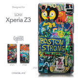 Collection - CASEiLIKE Sony Xperia Z3 back cover Graffiti 2723