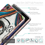 Details in English - CASEiLIKE Sony Xperia Z3 back cover Graffiti Girl 2724