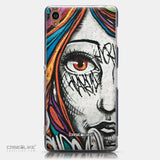 CASEiLIKE Sony Xperia Z3 back cover Graffiti Girl 2724