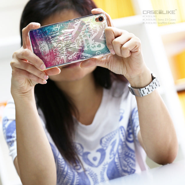 Share - CASEiLIKE Sony Xperia Z3 back cover Graffiti 2726