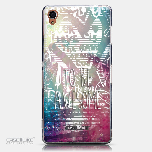 CASEiLIKE Sony Xperia Z3 back cover Graffiti 2726